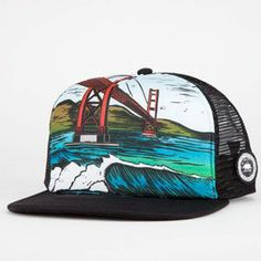 4dcdaa2e726 RIP CURL Search Artist Mens Trucker Hat Mens Trucker Hat
