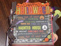 Halloween Mini Paper Bag Album
