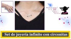Pulsera infinito y Collar - Set de joyeria en Shop Cositas