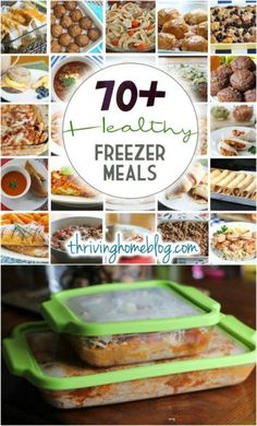 Think freezer meals are bland and boring? These healthy freezer meals break any freezer meal stereotype you had about freezer cooking. All include freezing and thawing instructions. They are mostly whole food recipes your family will actually eat! Make Ahead Freezer Meals, Freezer Cooking, Easy Meals, Healthy Meals To Freeze, Dump Meals, Make Ahead Lunches, Cooking Bacon, Cooking Turkey, Crockpot Meals