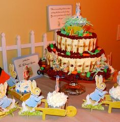 Peter Rabbit party (for an Easter birthday)
