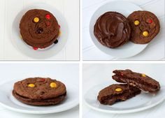 Reeses & Nutella Cookies (RB WOULD LOVE THESE! :O)