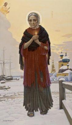 Житие святой блаженной Ксении Петербургской в 30 иллюстрациях Александра Простева « ХРАМ СВЯТЫХ РАВНОАПОСТОЛЬНЫХ КОНСТАНТИНА И ЕЛЕНЫ