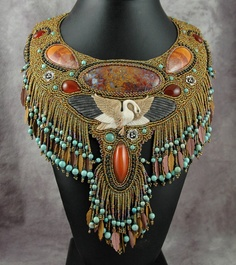 wow. This is beadwork talent!  I used to bead, and this person knows how to do it very well!