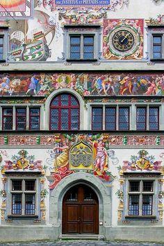 Old Town Hall in Lindau, Bavaria, Germany
