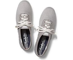 Women's Lace Up Shoes & Sneakers Keds Sneakers, Keds Shoes, Grey Sneakers, Sneakers For Sale, Sock Shoes, Women's Lace Up Shoes, Grey Shoes, Me Too Shoes, Keds Champion