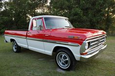 1971 Ford F100 Ranger XLT- a redneck driving one of these could steel my heart ;)
