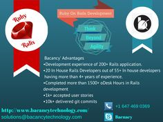 Hire Expert Ruby on rails Developers, Full Life Cycle Rails Development .  #rubyonrails #ruby #rails #hire