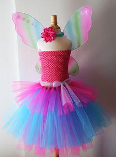 Baby girls Barbie Fairy Secret inspired tutu by AydaAndEmilys, $42.95