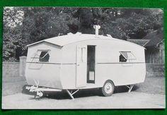 Vintage Catalogue The Thomson Clyde Caravan c1950 s Leaflet Retro Camping