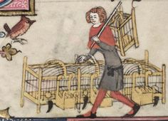 Bodleian Library MS. Bodl. 264, The Romance of Alexander in French verse, 1338-44; 126v
