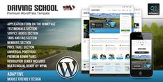 Driving School - Themeforest WP Theme for Small Business
