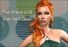 Lowi♥Sims: ★Update★ ts2 sim - Rebecca Deveraux Sims 1, Wonder Woman, Superhero, Female, Women, Wonder Women, Woman