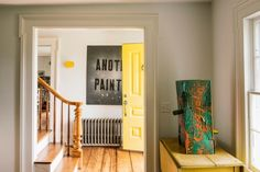Contemporary art meets Americana in a New York farmhouse remodel by Berman Horn Studio