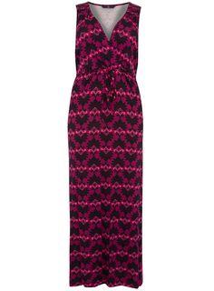 EVANS DECO FLORAL MAXI DRESS  Price:£45.00
