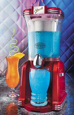 máquina de margarita e drinks - nostalgia electrics