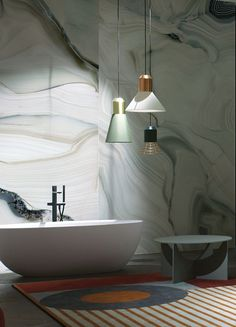 Large Format, Modern Bathroom Design, Tiles, Printing, Flooring, Technology, Wall, House, Tecnologia