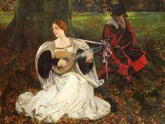 Fair Is My Love  Edwin Austin Abbey (1852 – 1911)