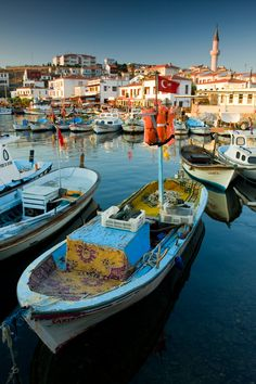 Bozcaada , Turkey - An island in the Aegean not all that far from Istanbul Places Around The World, Oh The Places You'll Go, Places To Travel, Places To Visit, Around The Worlds, Istanbul Tours, Istanbul Turkey, Wonderful Places, Beautiful Places