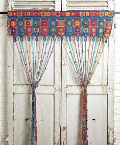Diy curtains 219902394290362664 - Ravelry: Beaded Curtain pattern by Emma Leith Source by Crochet Curtain Pattern, Crochet Curtains, Beaded Curtains, Curtain Patterns, Diy Curtains, Scarf Curtains, Crochet Decoration, Crochet Home Decor, Crochet Designs