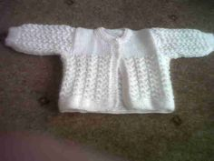 knitted cardigan available from prem baby- Knit Patterns, Baby Things, Knit Cardigan, Knitting, Sweaters, Fashion, Knitting Patterns, Moda, Tricot