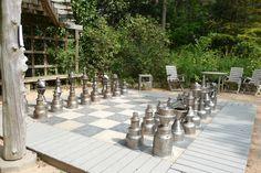 Giant chess board, Chapel Hill, NC