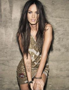 Megan Fox. She may get a lot of (self-inflicted) crap, but to be honest, I do love the way she dresses (especially her dark hair) and she admittedly has a very pretty face.