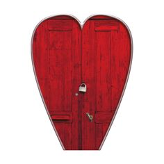 KittyDesigns-PrincessDream-door.png ❤ liked on Polyvore featuring hearts, doors, decor, red and art