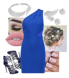 """""""Untitled #288"""" by krisxinfinity on Polyvore featuring Messika, Giuseppe Zanotti, Lime Crime and Halston Heritage"""
