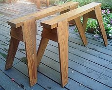 Build A Classic Sawhorse – Fine Woodworking Article | DIY Time