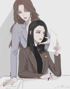 Yuri Anime, Goddess Art, Aesthetic Painting, Anime Screenshots, Eye Art, Character Drawing, Webtoon, Anime Couples, Manhwa