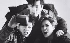 <3 #tao #baekhyun #kai