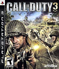 Call of Duty 3 (Sony Playstation 3, 2006) Complete & FREE USA Shipping #CallOfDuty3 #videogames #ps3