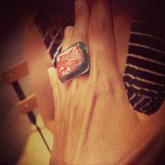 #ring #handmade #colours #alternative #fashion