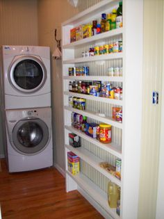 laundry/pantry ideas | ... pantry into a combo laundry room/pantry.