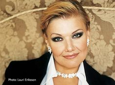 Karita Marjatta Mattila - (born September 5, 1960) is a leading operatic soprano. I once saw her in Toronto at Roy Thompson Hall, and she sang in her bare feet. Awesome.