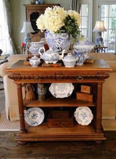 Antique French Server Buffet Bar Carved Oak Tiered Gothic Renaissance  #FrenchCountryProvincial