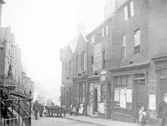 lodging house, shopkeeper and beer retailer, 51 and Scotland Street Scotland Street, Sources Of Iron, University Of Sheffield, Happy City, Industrial Architecture, My Family History, City Scene, Derbyshire, Black And White Pictures