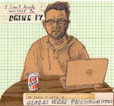 The Blogger. by David Fullarton, via Flickr