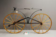 1869 Boneshaker Velocipede #bicycle #bicyclette