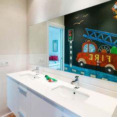 idea para decorar el baño infantil