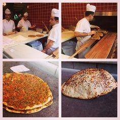 Çiya, Istanbul: making b'tiful crispy lamb flatbreads and delectable puffy breads