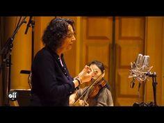 """Nathalie Stutzmann - Recording Bach aria """"Erbarme dich"""" - YouTube"""