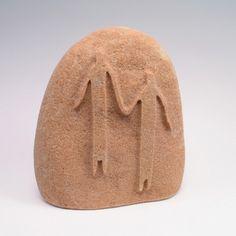 sand-blasted stones, stone sculptures, rock art