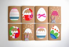Easter Craft Ideas for Kids - Easter candy cards to go Diy Easter Cards, Diy Cards, Easter Crafts, Crafts For Kids, Easter Candy, Easter Eggs, Cute Easter Bunny, Happy Easter, Fabric Cards