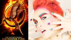 HUNGER GAMES: CATCHING FIRE MAKE-UP TUTORIAL USING ALL THE COVERGIRL HUNGER GAMES COLLECTION