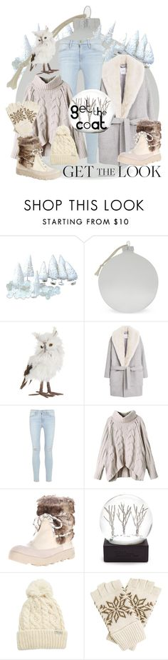"""""""Winter Wonderland"""" by alice-through-the-looking-glass ❤ liked on Polyvore featuring Bloomingville, Lord & Taylor, MANGO, Frame Denim, Joe's Jeans, Rella and Joe's"""