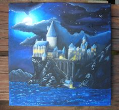 Hogwarts painting by chughes225