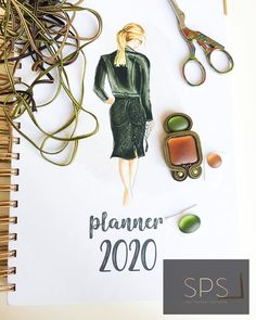 """Suzy Palhazy Soutache on Instagram: """"Planning is a key to success 😇 New project is in progress, and taking orders now for 2020 in my beautiful new diary! 🍾🥁🖋 #soutache…"""""""
