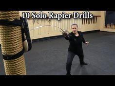 10 Solo Rapier Drills in 5 minutes - YouTube